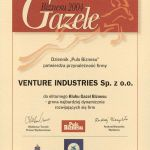 Zertifikat Gazele 2004